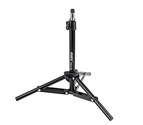 Kompaktes Lampenstativ Blitzstativ 34-60cm ayex GSA-60