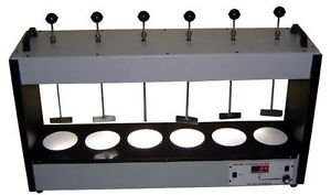 Ajanta Floculator six Jar Test Apparatus 220vHealthcare Lab Equipment Aei-277 from Ajanta