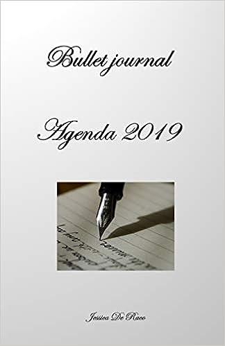 Bullet journal - Agenda 2019: Janvier à Décembre 2019 ...