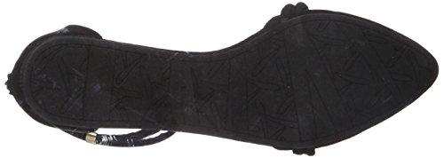 Qupid Ballet Swift-244x Femme Plat Noir