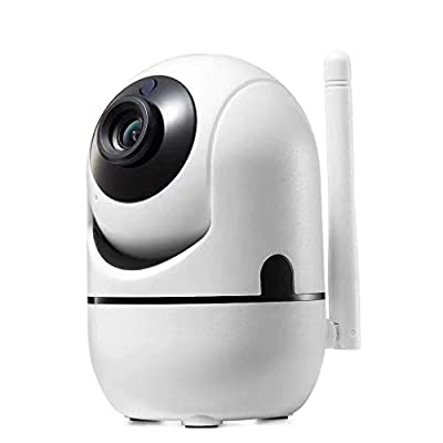 Chercherr Surveillance Camera, 1080P WiFi Wireless Network Camera Infrared Night Vision Home Office Security Monitoring, APP Control All-Weather Sensing Protection Baby Monitor