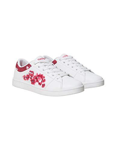 tennis Basses Desigual 1000 blanco Shoes Femme Dancer Blanc Sneakers Hindi pqB5nXBw