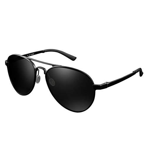 CHEREEKI Gafas de sol Hombre polarizadas, Gafas de Sol Aviador Hombres Mujeres Protección UV400 para Conducción Verano Deportes Moda Gafas de sol a buen precio