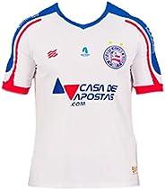 Camisa Torcedor 1 2021 Esquadrão Masculino Branco Azul Cor:Branco/Azul;Tamanho:M;Peso:0.4;Gênero:Masculino;