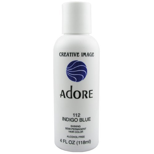 Adore Semi-Permanent Haircolor #112 Indigo Blue 4 Ounce ()