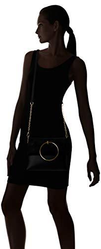 Look Women's Metal Matilda Black Bag Black 5723776 New Shoulder Handle qwAvq7d