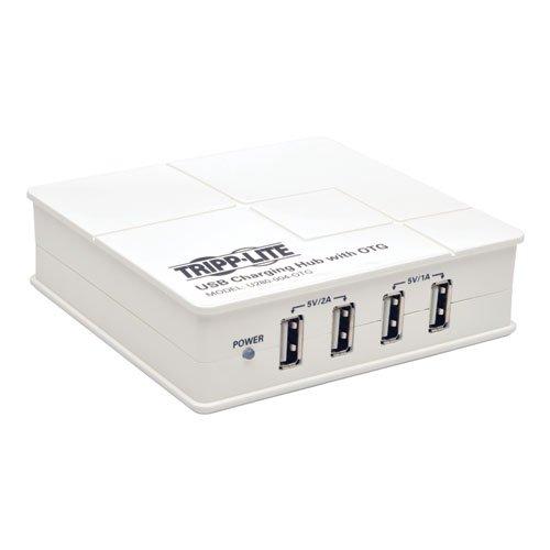 TRIPP LITE 4-Port USB Charging Hub with OTG Hub Tablet Smartphone iPad (U280-004-OTG) by Tripp Lite