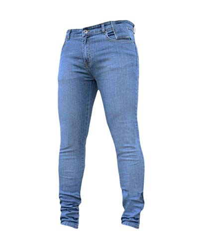 Casual Base Laisla Hellblau Ragazzi Fashion Jeans Classiche Pantaloni Elasticizzati Da Stile Uomo Fit Di Regular Ssiger wr6rZqnxO