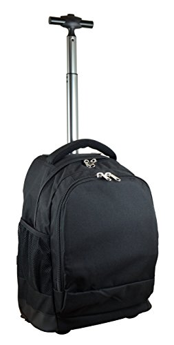 Denco Expedition Wheeled Backpack, 19-inches, Black by Denco
