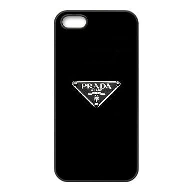 the best attitude 3c945 59eda Prada Brand Logo For Cell Phone Case iPhone 5 5s SE Black Case Cover ...
