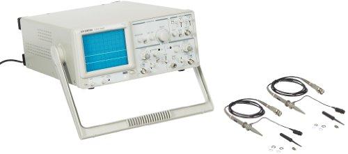 - GW Instek GOS-620 Analog Oscilloscope with 2 channel, 20MHz Bandwidth