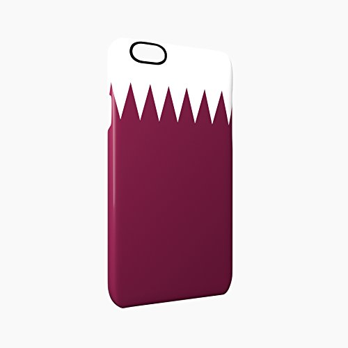 Flag of Qatar Glossy Hard Snap-On Protective iPhone 6 / 6S Case Cover