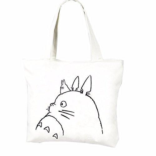 rare Schultertasche Tasche Shoulder Bag Rucksack reisetaschen Gezeichnet Katze totoro new