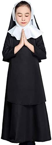 GUAN Disfraces Familiares de Halloween Disfraces de monjas ...