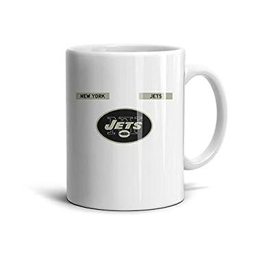 KEVE JAM White Ceramic 11 OZ Coffee Mugs Daily Use 330ML Tea Mugs Cups Friend,Dad,Grandpa,Brother Gifts