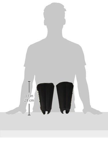 Brine Lacrosse Goalie Shin Guard (One Size, Black) by Brine (Image #3)