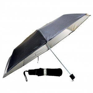 KCPaul & Sons Three Fold umbrella for Men and Women For All Weather (BLACK  (ONLY FOR MEN))