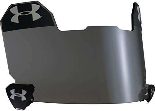 (Under Armour 10 Percent Grey Football Visor (Darkest Eye Shield) Available Only from Sports)