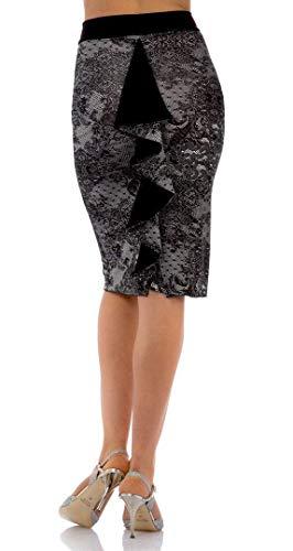 rivenditore di vendita 92336 40d76 GONNA FRIDA. Abbigliamento donna da sera e da tango. Evening ...