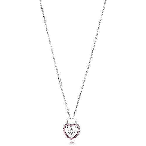 Pandora Lock Your Promise Necklace 396583FPC60