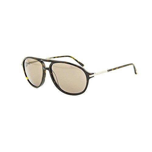 Tom Ford FT0255 John Sunglasses Dark Havana - Tom Sunglasses John Ford