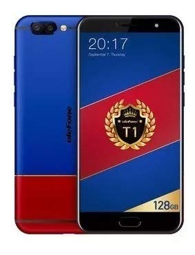 Smartphone Ulefone T1 Premium Edition tela 5.5'' full hd 6gb ram 128gb rom processador Helio P25