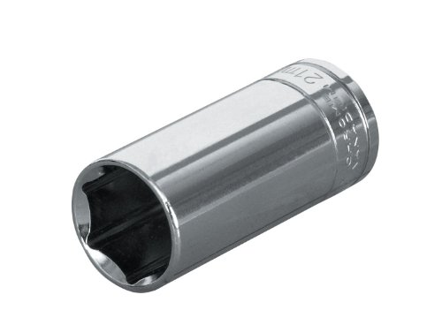 Blackhawk By Proto GW-1612M 12 Point 12mm Drive Deep Socket, 1/4-Inch