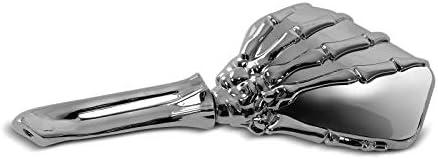 Spiegel Skelett Hand Für Yamaha Xv 125 250 535 750 1100 Virago Chrom Auto