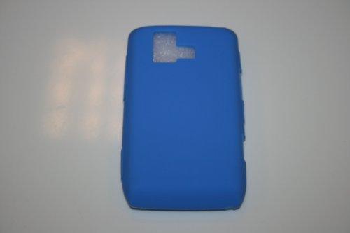 LG DARE VX9700 LIGHT BLUE SOLID SILICONE SKIN RUBBER SOFT CASE COVER (Lg Dare Vx9700 compare prices)