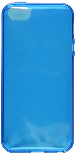 KATINKAS-Cover morbida per Apple iPhone 5, colore: blu