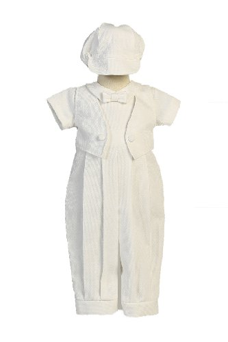 Cotton Romper Sewn Christening Matching product image