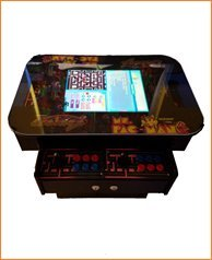 3 Sided Cocktail Arcade Machine W/1162 games by Suncoast Arcade