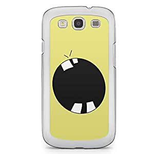 Smiley Samsung Galaxy S3 Transparent Edge Case - Design 11