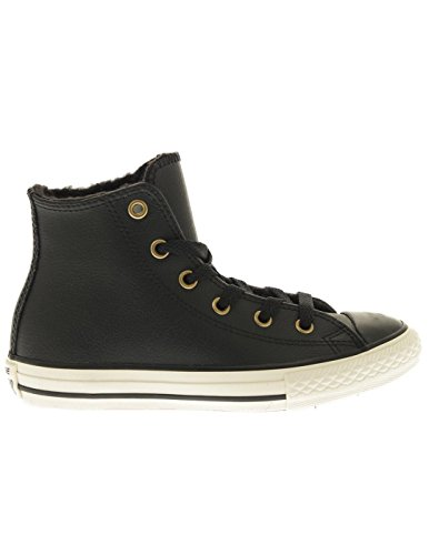 Converse Youth Chuck Taylor All Star Hi Leather Trainers Negro