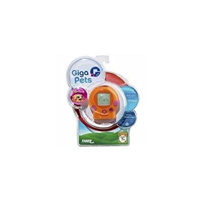 Giga Pets Puffball Handheld Game: Toys & Games
