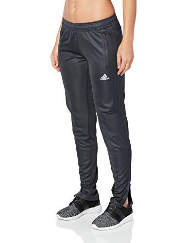 adidas Womens Soccer Tiro 17 Training Pants, Dark Grey/Dark Grey, Large