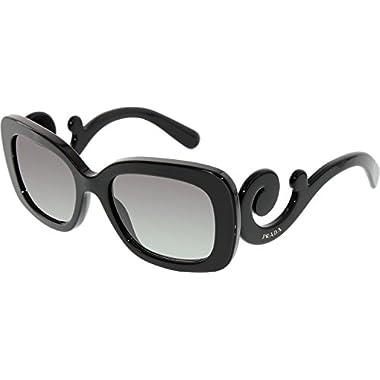 2d51d61b328 ... frames 31f9f 81d7d discount code for prada womens baroque square sunglasses  black 2075f 7de22 ...