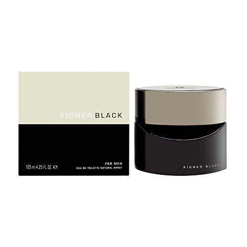Price comparison product image Aigner Black By Etienne Aigner For Men. Eau De Toilette Spray 4.2 Oz