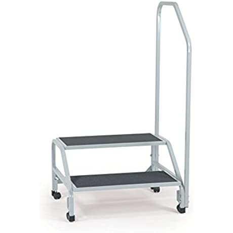 Bariatric Step Stool With Handrail