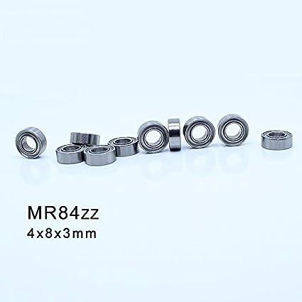 NO-LOGO 10Pcs MR72zz MR85zz MR84zz MR93zz MR83zz /à Une rang/ée de Billes /à Gorge Profonde Roulement ABEC-1 m/étriques Roulements en Acier chrom/é MR72z MR85z MR84z MR93z MR83z