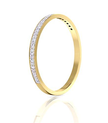 Natural Diamond Wedding Anniversary Clarity