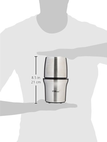 Kitchen Highline SP-7412S Stainless Steel Wet and Dry Coffee/Spice/Chutney Grinder with Two Bowls by Kitchen Highline (Image #3)
