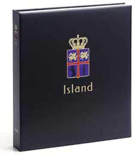 DAVO 9033 Luxus Briefmarken-Album Island III 2010-2012