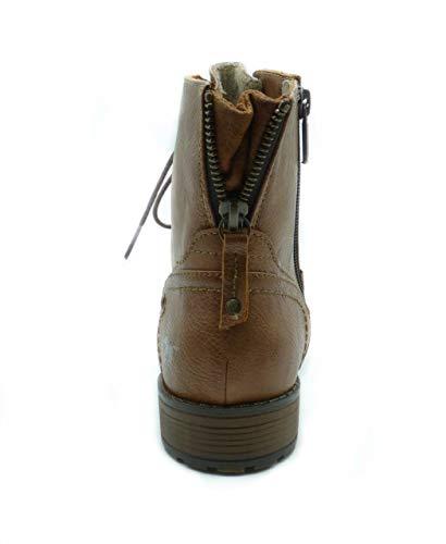 Colore Shoes Castagna Da Con Corta 301 Gamba Stivaletti Braun Donna Marrone Kastanie Mustang 60wfqdf