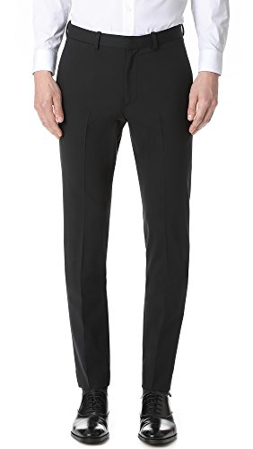 Theory Men's Jake W.New Tailor 2 Dress Pant, Black, 32 -