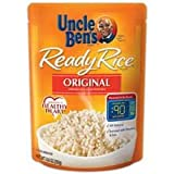 Uncle Bens Original Long Grain White Ready Rice, 8.8 Oz - 12 Per Case