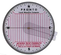 Land Compass with Cursor Arm by PRONTO LAND MEASURE