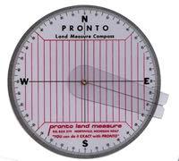 Land Compass with Cursor Arm