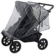 Valco Baby Raincover for Snap Duo Trend, Neo Twin and Duo X Double Strollers by valco baby