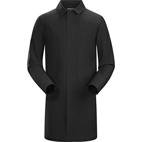 Arc'teryx Keppel Trench Coat Men's (Black, Large)